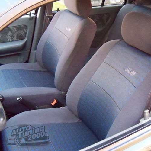 Funda Cubre Asiento Fiat Uno Novo - Modelo Nuevo