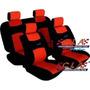 Juego Fundas Asiento Auto Cuero Ecologico 8 Piezas Cla 21681