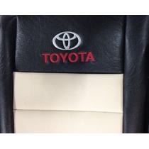 Fundas Cubre Asiento Toyota Hilux Doble Cabina Eco Cuero