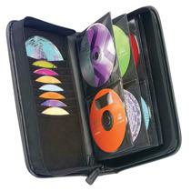 Porta Cd/dvd Case Logic Ksw-64 Para 64 Unid.p/dj.cuero Imp.