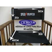 Sillas Director - Vendemos Juego De Fundas Para Sus Sillas