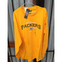 Remera Nfl Usa,g.b.packers M/larga Talle Xl Nueva