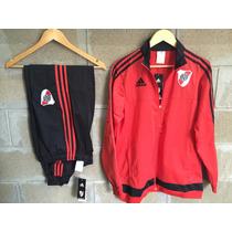 Conjunto Campera/buzo Y Pantalon Chupin - River Plate
