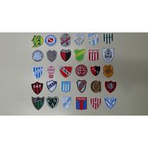 Parches Apliques Escudos Bordados Equipos Futbol Argentino