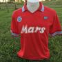 Camiseta Napoli Maradona Retro. Unica Toda Cosida A Mano!!