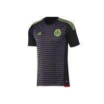 Camiseta Mexico Negra, Copa De Oro 2015