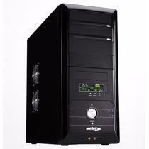 Gabinete Sentey Deluxe Serie | Fuente 600w | Lcd | 4 Cooler