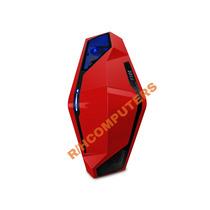 Gabinete Pc Gamer Nzxt Shiny Red Series 410 Exc. Ultima Rev!