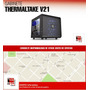 Gabinete Gamer Thermaltake V21 - La Plata