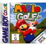 Juego Mario Golf Original Nintendo Game Boy Color