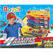 4 Rampas Estacionamiento Rondi Lavadero Pistas Lanzamiento