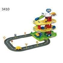 Pista Didactica Garage De Autos 4 Niveles Rondi 3410