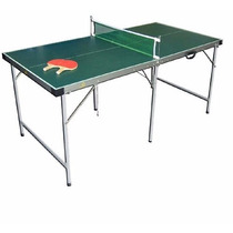 Mesa Ping Pong Camping Plegable Excelente