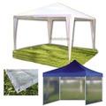 Gazebo Rafia 3x3 Reforzado + 4 Paredes Jardin Camping Carpa