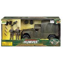 Humvee Con Capota + Soldados Tipo Gi Joe Bbi Elite Y Armas