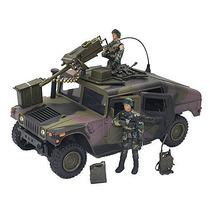 Hummer Humvee Militar + Soldados Estilo Gi Joe Bbi Camuflado