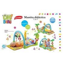 Gimnasio Bebe Didactico 3 En 1 Ok Baby Juguetería El Pehuén