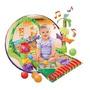 Gimnasio Manta Musical Bebé Moviles Y Sonido Baby Safari