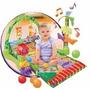 Gimnasio Bebe Baby Safary Con Luz Y Sonido Lanza Pelotas