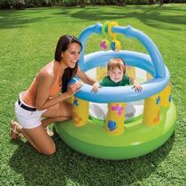 Intex Gimnasio Saltarin Corralito Inflable Bebe Infantil Gym