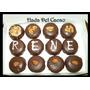 Alfajores Mensajeros Personalizados X 12u. En Caja Chocolate