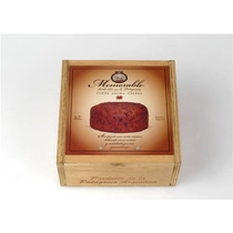 Torta Negra Galesa X 500 Grs. Envase Madera Cuadrada