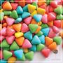 Pastillas Confitadas Triangulo Por 500grms Para Candy Bar