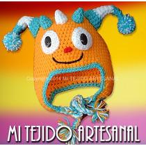Gorro Henry Hugglemonster Tejido Al Crochet