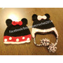 Gorro A Crochet Minnie