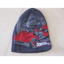 Gorro Invierno Hot Wheels One Size Marca Hot Wheels Gris Osc