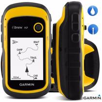 Gps Garmin Etrex 10 Resistente Al Agua + Glonass + Brujula