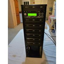 Torre Grabadora Duplicadora Dvd Cd Athena 6+1 Sata