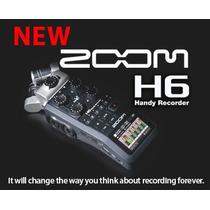 Zoom H6 Grabador Portatil Digital De 6 Canales