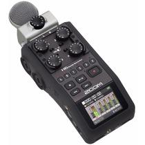 Zoom H6 - Grabador Digital Portátil De 6 Pistas