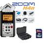 Grabador Zoom H4n Con Accesorios + Skb Case + Memoria 16gb !