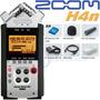 Zoom H4n / Grabador Portatil 4 Ch Con Accesorios