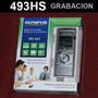 Grabador Digital Stereo Olympus Ws821 Periodista 2gb Usb Mp3