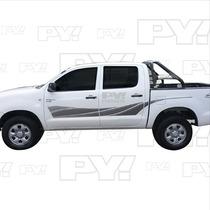 Calco Toyota Hilux Srv 2010 - 2014 - Calcomania - Ploteoya!