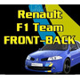 Ploteo Calco Renault F1 Team Megane - Front Back