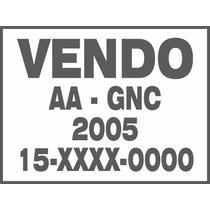 Cartel Vendo Auto Calcos Calcomania Ploteo Vinilos-x3 Unid-