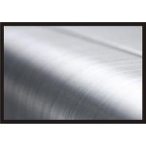 Lamina Aluminio Cepillado Ideal Para Autos Motos Notebook Pc