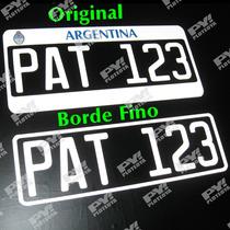 Calco Patente - Vinilo Reflectivo - Igual A Original Ploteo