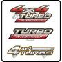 Calcos Toyota Hilux 4x4 Turbo Intercooler . Simil Original
