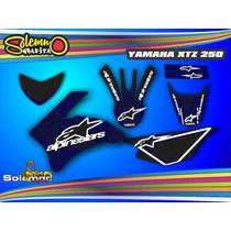 Kit Calcos Xtz 250 Deportivas Laminado Grueso Competición