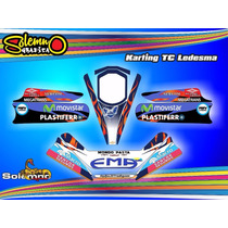 Calcos Para Karting Tc Varios Con Laminado Anti Rayas