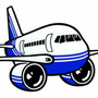 Calcos Vinilos Stickers Aeronauticos Aviones