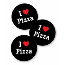 I Love Pizza Calco Cartel Auto Vinilo Autoadhesivo Promo
