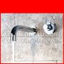 Griferia Monocomando De Pared Diseño Moderno.cierre Ceramico