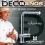 Hidromet Cocina Monocomando Jockey Pico Girat C.ceramico Ofe