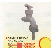 2 Canillas De Pvc 3/4pulg Power Na5013 #